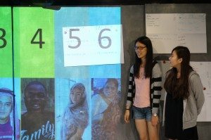 Students reported the results of their group discussion. 同學們匯報他們小組的討論結果。