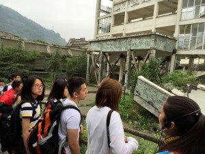 Visiting the quake relics of Xuankou Middle School in Yingxiu, the epicenter of the 2008 Sichuan Great Earthquake 走訪2008年四川大地震震中映秀鎮漩口中學地震遺址