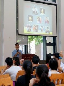 SHEAC College Master Prof. Iu Vai Pan hosted a welcome reception for freshmen to kick-off the orientation program in the College. 何鴻燊東亞書院院長姚偉彬教授主持新生歡迎會,為書院迎新活動系列揭開序幕。