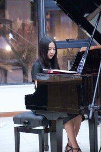 Student Wang Jingxin's solo performance 王婧馨同學獨奏