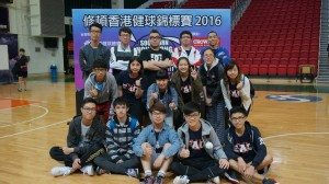 Group photo of both SHEAC and CKYC teams SHEAC隊和CKYC隊合影留念