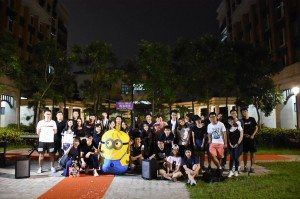 Group photo after the charity show 慈善演出後合照