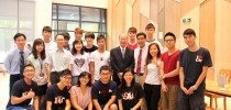 Visit by Dr. Ambrose So Shu Fai, Donor's Representative  — College Master's Welcome Reception for Freshmen