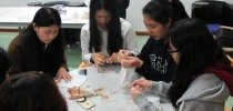 Students Gain a Deeper Understanding of Fair Trade through an Interactive Coffee Ground Natural Dye Workshop