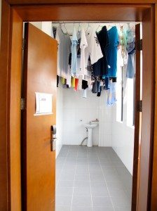 Clothes Drying Area
