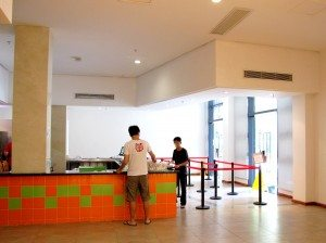 Meal Service Counter of Refectory
